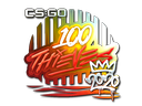 Sticker | 100 Thieves (Foil) | 2020 RMR