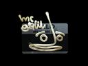 Sticker | Hello Galil AR (Gold)