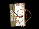 Sticker   Hello PP-Bizon