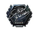 Sticker | SmithZz (Foil) | London 2018