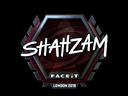 Sticker | ShahZaM (Foil) | London 2018