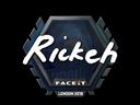 Sticker   Rickeh   London 2018