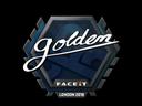 Sticker   Golden   London 2018