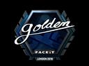 Sticker   Golden (Foil)   London 2018