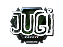Sticker | JUGi (Foil) | London 2018