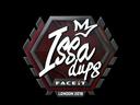 Sticker   ISSAA   London 2018