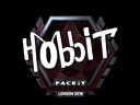 Sticker   Hobbit (Foil)   London 2018