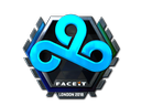 Sticker | Cloud9 (Foil) | London 2018