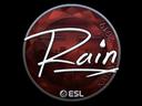 Sticker   rain (Foil)   Katowice 2019