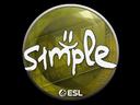 Sticker | s1mple | Katowice 2019