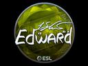 Sticker   Edward (Foil)   Katowice 2019