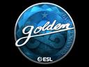 Sticker | Golden (Foil) | Katowice 2019