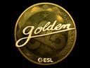 Sticker   Golden (Gold)   Katowice 2019