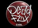 Sticker | DeadFox | Katowice 2019