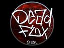 Sticker | DeadFox (Foil) | Katowice 2019