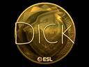 Sticker | DickStacy (Gold) | Katowice 2019