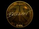 Sticker   Brollan (Gold)   Katowice 2019