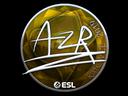 Sticker | AZR (Foil) | Katowice 2019