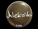 Sticker   Aleksib   Katowice 2019