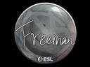 Sticker   Freeman   Katowice 2019