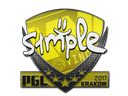 Sticker   s1mple   Krakow 2017