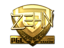 Sticker | zehN (Gold) | Krakow 2017