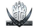 Sticker | BIG (Foil) | Krakow 2017