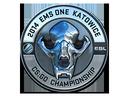 Sticker | ESL Skull (Foil) | Katowice 2014