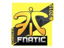 Sticker   Fnatic   Katowice 2015