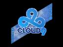 Sticker | Cloud9 G2A (Holo) | Katowice 2015