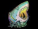 Sticker   Baited (Holo)