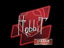 Sticker | Hobbit | Atlanta 2017