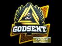 Sticker | GODSENT (Foil) | Atlanta 2017