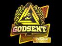 Sticker | GODSENT (Holo) | Atlanta 2017
