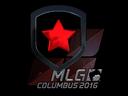 Sticker   Gambit Gaming (Foil)   MLG Columbus 2016