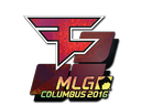 Sticker | FaZe Clan (Holo) | MLG Columbus 2016