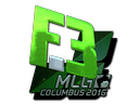 Sticker   Flipsid3 Tactics (Foil)   MLG Columbus 2016