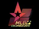 Sticker | Astralis (Holo) | MLG Columbus 2016