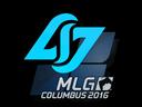 Sticker   Counter Logic Gaming   MLG Columbus 2016