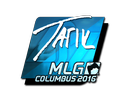 Sticker   tarik (Foil)   MLG Columbus 2016
