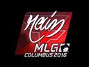 Sticker   rain (Foil)   MLG Columbus 2016