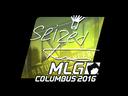 Sticker   seized (Foil)   MLG Columbus 2016