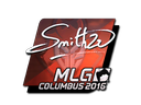 Sticker | SmithZz (Foil) | MLG Columbus 2016