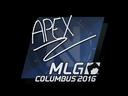 Sticker | apEX | MLG Columbus 2016