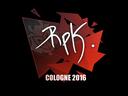 Sticker | RpK | Cologne 2016