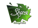Sticker | Shara | Cologne 2016