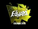 Sticker   Edward (Foil)   Cologne 2016
