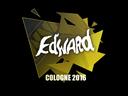 Sticker | Edward | Cologne 2016