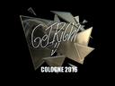 Sticker | GeT_RiGhT (Foil) | Cologne 2016