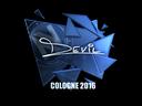 Sticker   DEVIL (Foil)   Cologne 2016